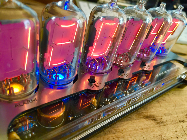 nixie clock numitron clock